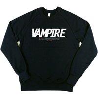 Typographic: Vampire Mens Sweatshirt - Vampire Gifts