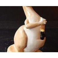 Rare Vintage Carlton Ware Guinness Advertising Kangaroo Pottery Figure - Kangaroo Gifts