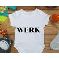 Werk baby vest boys girls grow, Little Hippo, Bodysuit, Hippy, Printed Babies Wear Clothing, Made To Order, Handmade, Gift - Hippo Gifts