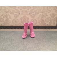 Blythe Doll boots  ugg style boot  longer length  dark pink - Ugg Gifts