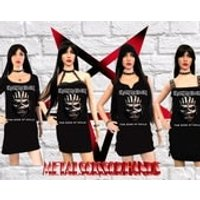 Iron Maiden  The book of souls Handmade Mini Dress , 4 Different Dress Styles, Choose yours! - Iron Maiden Gifts