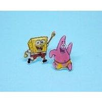 Spongebob Squarepants  Patrick Star  Earrings - Spongebob Squarepants Gifts