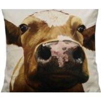 Cushion CoverUnique Farm Animals Faces LambsSheepPigletCalveOriginal Cushion CoversBespoke Cushions. - Farm Gifts