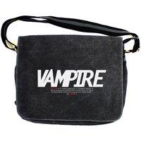 Monster Trilogy: Vampire Vintage Canvas Despatch Bag - Vampire Gifts