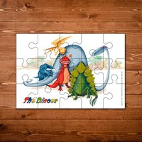 The Dinoes Childrens 15 piece Jigsaw - Jigsaw Gifts