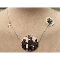 Silver Plated Handmade Motorhead Necklace - Motorhead Gifts