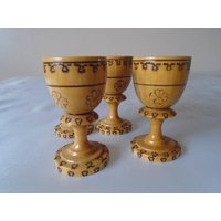 poker ware wooden small egg cups. - Poker Gifts