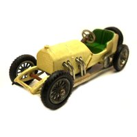 1950s Vintage Matchbox Yesteryear Y101 1908 Grand Prix Mercedes Racing Car Toy Collectible Made in England. - Mercedes Gifts