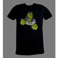 Crazy Green Monster Hulk Comics funny Tshirt - Hulk Gifts