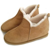 Deluxe Mens 100% Twinface Sheepskin Suede Slippers Moccasins colour Handmade  Mens Shoes Wool Slippers Ugg style SIZE: EU 42/ UK 8 - Ugg Gifts