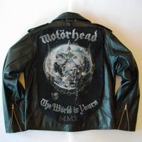 Metalworks Motorhead The World Is Yours Leather Jacket - Motorhead Gifts