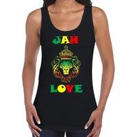Jah Love Womens Vest Tank Top  Bob Marley Reggae Rasta Jamaica - Bob Marley Gifts