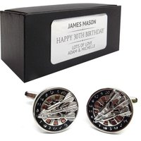 Darts, dart player CUFFLINKS 30th, 40th, 50th, 60th, 70th birthday gift, presentation box PERSONALISED ENGRAVED plate  151 - Darts Gifts