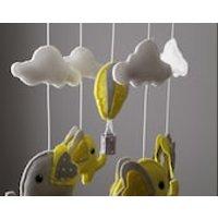 Ready to ship Elephant Mobile  Hot Air Balloon Mobile - Hot Air Balloon Gifts