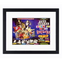 Sex Pistols  The Great Rock n Roll Swindle  Mounted  Framed Vintage Print - Sex Pistols Gifts