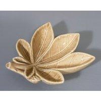 Vintage Wade Pottery, Cannabis Leaf, Pin Dish, Leaf Dish, Horse Chestnut Leaf, Trinket Dish, Wade Pottery, Wade Pin Tray, Free UK Postage - Cannabis Gifts