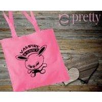 Vampire Bunny Tote Bag gift Joke - Vampire Gifts