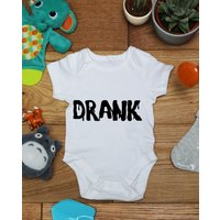 Drank baby vest boys girls grow, Little Hippo, Bodysuit, Hippy, Printed Babies Wear Clothing, Made To Order, Handmade, Gift - Hippo Gifts