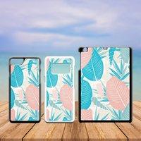 Summer Tropical Plastic Phone Case iPhone 5 5C SE 6 7 8 X Plus Galaxy J5 S5 S6 S7 S8 Edge Note Xperia iPad Air Mini 2 3 4 No.05 Leaves - Ipad Gifts