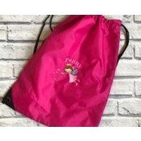 Fairy personalised pump bag. Swimming bag. PE bag. Nursery bag. dancing bag. - Fairy Gifts