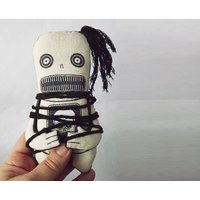 Voodoo Doll Scary Toy Creepy Toy Horror Doll Goth Gift Monster Plush Art Doll - Voodoo Doll Gifts