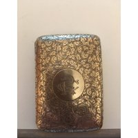 1876 Cigarette Case, Birmingham CSFS (81g) with RC engraved cartouche - Rc Gifts
