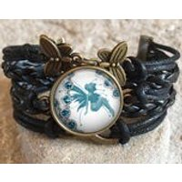Vintage Fairy Bracelet, vintage, fairies, play with fairies, flower fairies, gift for her, fairy jewelry, christmas gift, gift for friend - Fairy Gifts