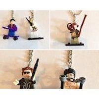 Action Movie Icon keyring, Movie Icon keyring, Bruce Lee, Terminator, Indiana Jones, Back to the Future, item 630 bt CraftyLittleMonkeyGB - Indiana Jones Gifts