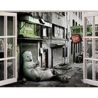 3D Window View Stop Global Warming Wall Decal Sticker Frame Mural Effect Home Decor Bedroom Living Room Kitchen Bathroom Nursery 863 - Warming Gifts