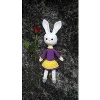 Easter Bunny, Crochet Bunny, Bunny soft toy, crochet dolls, crochet toys, amigurumi doll, crochet rabbit, nursery toys - Soft Toy Gifts