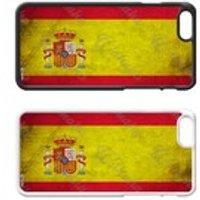 Flags of the World Plastic Phone Case iPhone 5 SE 6 7 8 Plus Galaxy J5 S5 S6 S7 S8 Edge Note Xperia iPad Air Mini 2 3 4 No.08 Spain Spanish - Ipad Gifts