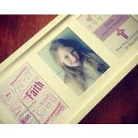 Baptism/Naming Day/ 1st Holy Communion  Frame - First Holy Communion Gifts