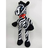 Handmade Soft Toy. Large Zebra. Stuffed Animal. Childrens Toy. Unique Toy. Soft Plush. Christmas Present. Christmas Gift. Made in UK - Soft Toy Gifts