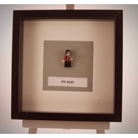 Michael Jackson mini Figure framed picture 25 by 25 cm - Michael Jackson Gifts