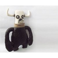 Monster Doll Demon Gothic Doll Scary Doll Voodoo Doll Horror Art Doll - Voodoo Doll Gifts