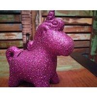 Unicorn Money Box, Sparkly Unicorn, Purple Unicorn, Ceramic unicorn - Money Gifts