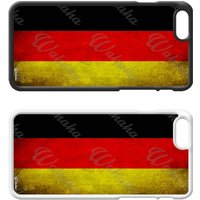 Flags of the World Plastic Phone Case iPhone 5 SE 6 7 8 Plus Galaxy J5 S5 S6 S7 S8 Edge Note Xperia iPad Air Mini 2 3 4 No.10 Germany German - Ipad Gifts
