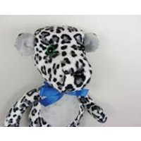 Handmade Soft Toy. Large Snow Leopard. Stuffed Animal. Childrens Toy. Unique Toy. Soft Plush. Christmas Present. Christmas Gift. Made in UK - Soft Toy Gifts