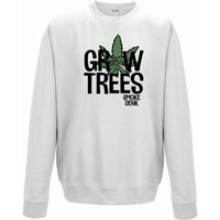 420 Grow Trees Smoke Denk Unisex Sweater 6 Top Colours  All Sizes Mens Womens Gift Weed Leaf Humour Cannabis Marijuana Snoop Ganja Dogg - Cannabis Gifts