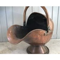 Antique Arts and Crafts copper coal scuttle - Arts And Crafts Gifts