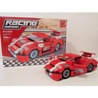 RACING RALLY CAR Construction set (328 pieces) - Construction Gifts