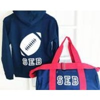 BOYS  Personalised Activity Bag  3 options available, Rugby, Football, Golf, Gift for Him, Birthday Gift, - Activity Gifts