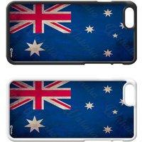 Flags of the World Plastic Phone Case iPhone 5 SE 6 7 8 Plus Galaxy J5 S5 S6 S7 S8 Edge Note Xperia iPad Air Mini No.18 Australia Australian - Ipad Gifts
