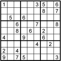 Sudoku Instant Download Printable Puzzle - Sudoku Gifts