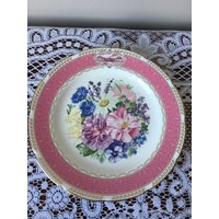 Wedgwood English bone china 1987 Chelsea Flower Show plate Chelsea Fragrance - Chelsea Gifts