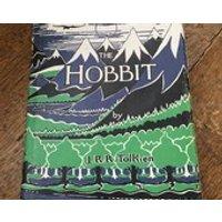 The Hobbit J R R Tolkien Third Edition 1975 HB DJ - Dj Gifts