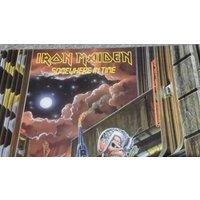 Iron Maiden  Somewhere In Time  original vinyl album  1st Pressing - Iron Maiden Gifts