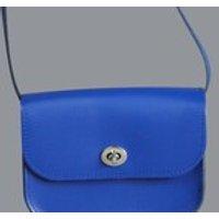 Chroma Handmade Leather Royal Blue Shoulder Bag // Medium Cross Body Handbag - Shoulder Bag Gifts