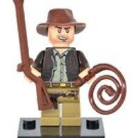 Indiana Jones Minifigure UK Seller Fits Lego UK Seller Free Shipping - Indiana Jones Gifts