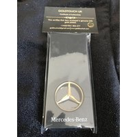 24k gold plated mercedes benz key ring - Mercedes Gifts